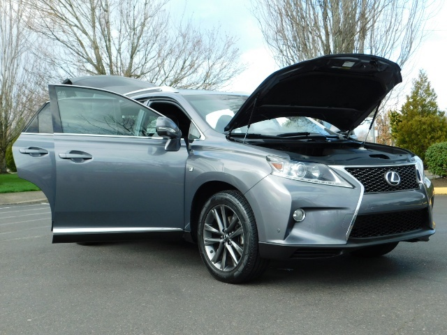2013 Lexus RX 350 F SPORT / AWD / FULLY LOADED / 1-OWNER - Photo 27 - Portland, OR 97217