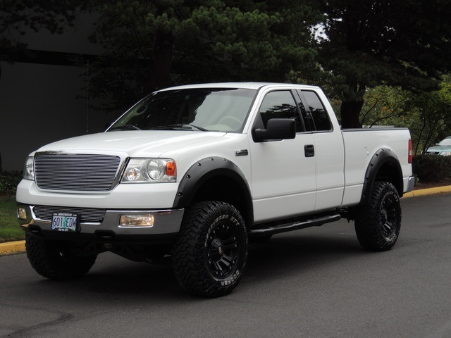 2004 ford f 150 lariat xtra cab 4x4 leather lifted lifted. Black Bedroom Furniture Sets. Home Design Ideas