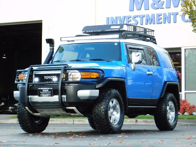2007 Toyota FJ Cruiser 4WD V6 4.0L / DIFF LOCK / MOON ROOF / LIFTED !! - Photo 45 - Portland, OR 97217