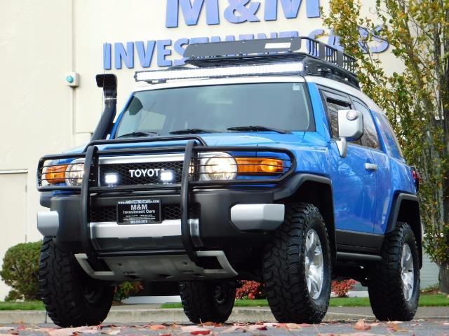 2007 Toyota FJ Cruiser 4WD V6 4.0L / DIFF LOCK / MOON ROOF / LIFTED !! - Photo 46 - Portland, OR 97217