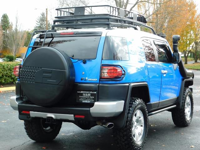 2007 Toyota FJ Cruiser 4WD V6 4.0L / DIFF LOCK / MOON ROOF / LIFTED !! - Photo 9 - Portland, OR 97217