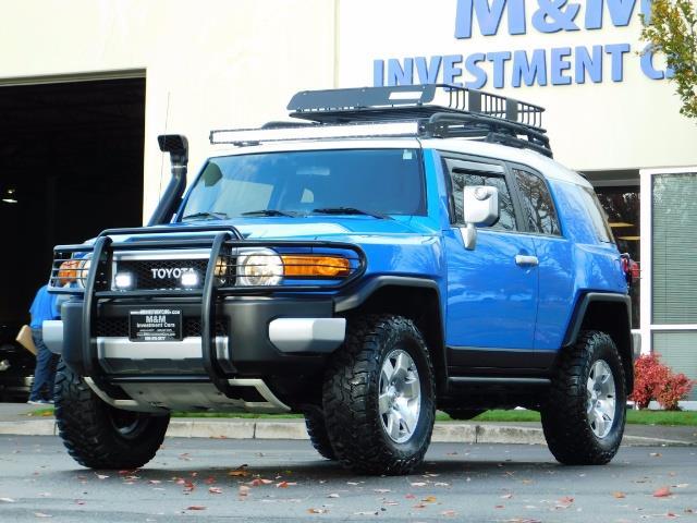 2007 Toyota FJ Cruiser 4WD V6 4.0L / DIFF LOCK / MOON ROOF / LIFTED !! - Photo 44 - Portland, OR 97217