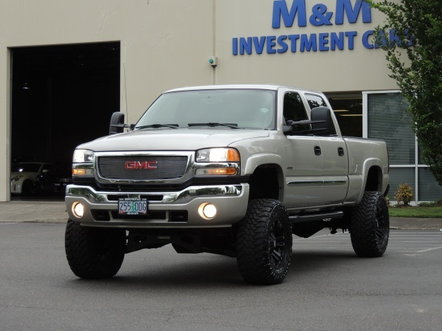 2006 Gmc Sierra 2500 4x4 Lbz Duramax Diesel Allison Lifted