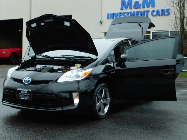 2013 Toyota Prius Persona Series SE / Leather / Navigation / Excel C - Photo 25 - Portland, OR 97217