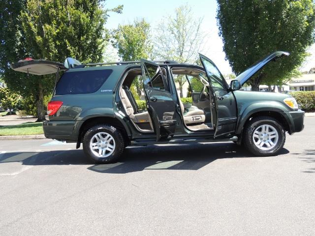 2006 Toyota Sequoia LIMITED 4X4 / 8 SEATS NAVi DVD / FRESH TIMING BELT - Photo 23 - Portland, OR 97217