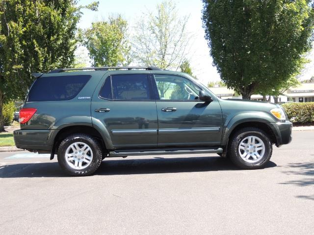 2006 Toyota Sequoia LIMITED 4X4 / 8 SEATS NAVi DVD / FRESH TIMING BELT - Photo 4 - Portland, OR 97217