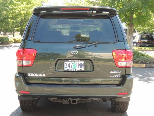 2006 Toyota Sequoia LIMITED 4X4 / 8 SEATS NAVi DVD / FRESH TIMING BELT - Photo 6 - Portland, OR 97217