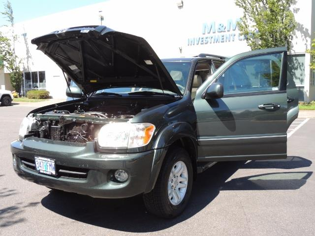 2006 Toyota Sequoia LIMITED 4X4 / 8 SEATS NAVi DVD / FRESH TIMING BELT - Photo 31 - Portland, OR 97217