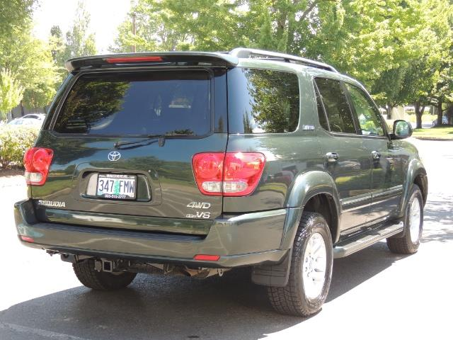 2006 Toyota Sequoia LIMITED 4X4 / 8 SEATS NAVi DVD / FRESH TIMING BELT - Photo 8 - Portland, OR 97217