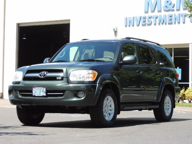 2006 Toyota Sequoia LIMITED 4X4 / 8 SEATS NAVi DVD / FRESH TIMING BELT - Photo 1 - Portland, OR 97217