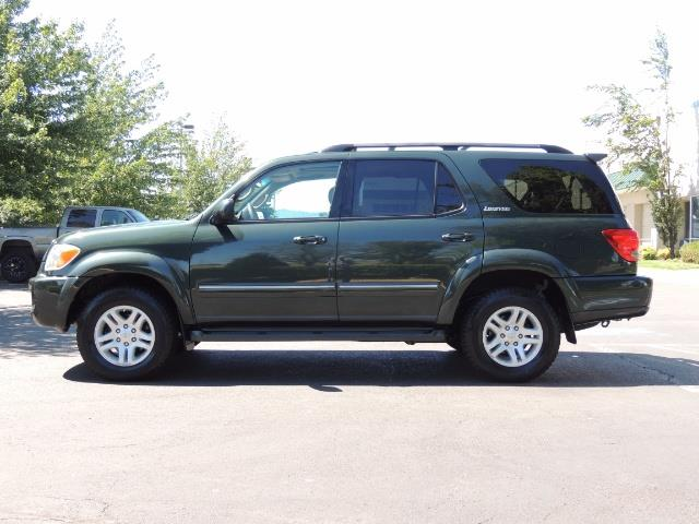 2006 Toyota Sequoia LIMITED 4X4 / 8 SEATS NAVi DVD / FRESH TIMING BELT - Photo 3 - Portland, OR 97217