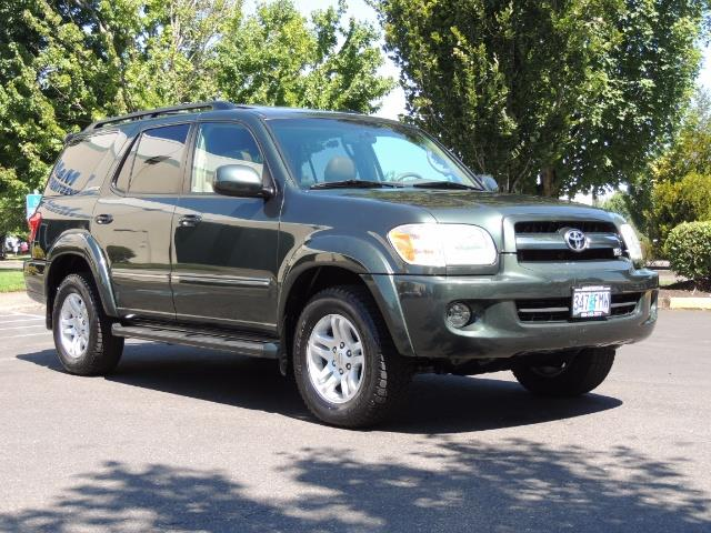 2006 Toyota Sequoia LIMITED 4X4 / 8 SEATS NAVi DVD / FRESH TIMING BELT - Photo 2 - Portland, OR 97217
