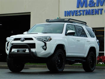 2017 Toyota 4Runner TRD Off-Road / 4X4 / NAVi / DIFF LOCK / LIFTED !!