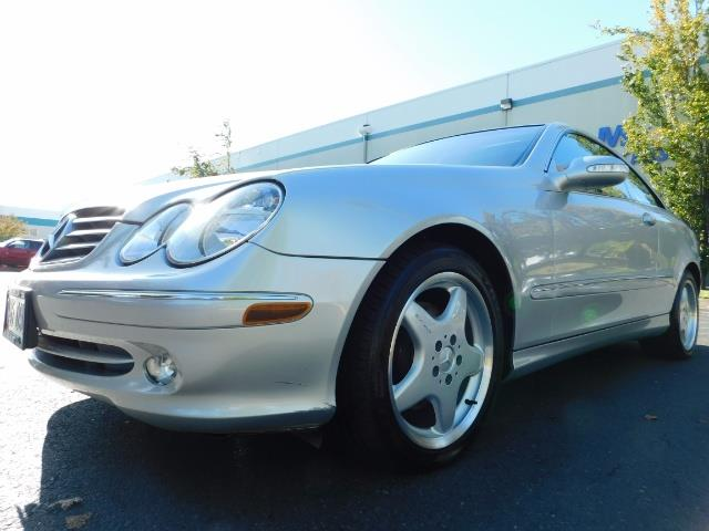 2003 Mercedes-Benz CLK 320 Navigation 6cyl  AMG RIMS Excl Cond - Photo 20 - Portland, OR 97217