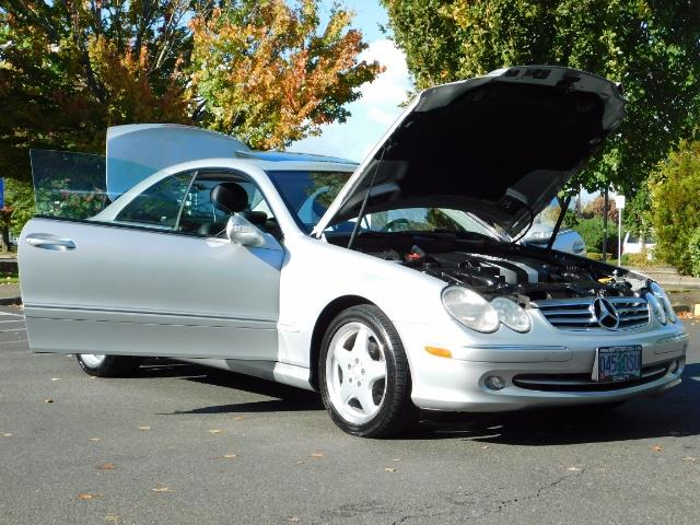 2003 Mercedes-Benz CLK 320 Navigation 6cyl  AMG RIMS Excl Cond - Photo 29 - Portland, OR 97217