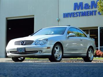 2003 Mercedes-Benz CLK 320 Navigation 6cyl  AMG RIMS Excl Cond Coupe