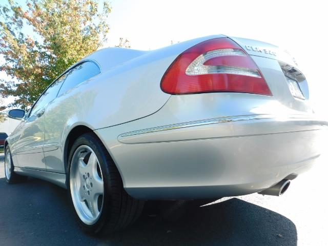 2003 Mercedes-Benz CLK 320 Navigation 6cyl  AMG RIMS Excl Cond - Photo 21 - Portland, OR 97217