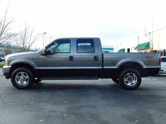 2002 Ford F-250 Super Duty Lariat 4dr / 4X4 / 7.3L Diesel / FX4 - Photo 3 - Portland, OR 97217