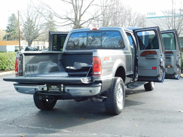 2002 Ford F-250 Super Duty Lariat 4dr / 4X4 / 7.3L Diesel / FX4 - Photo 28 - Portland, OR 97217