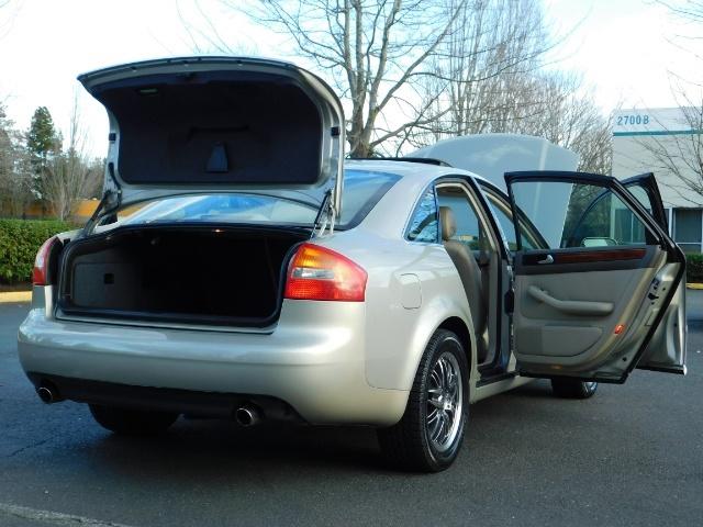 2002 Audi A6 3.0 quattro/  AWD / Leather / Heated / 64K MILES - Photo 30 - Portland, OR 97217