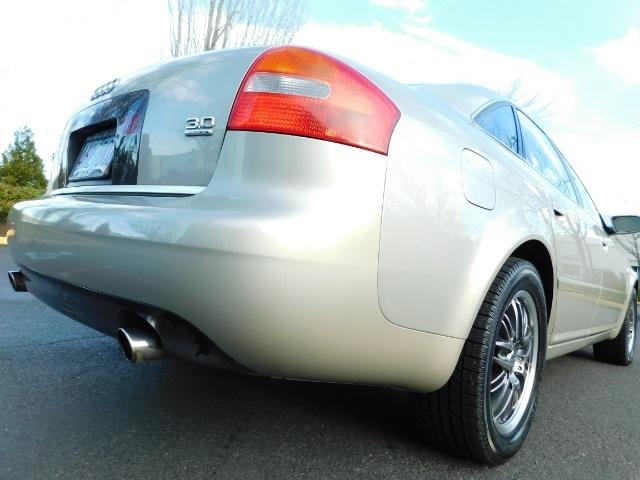 2002 Audi A6 3.0 quattro/  AWD / Leather / Heated / 64K MILES - Photo 12 - Portland, OR 97217