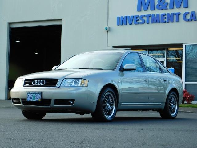 2002 Audi A6 3.0 quattro/  AWD / Leather / Heated / 64K MILES - Photo 46 - Portland, OR 97217