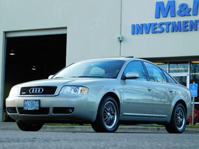 2002 Audi A6 3.0 quattro/  AWD / Leather / Heated / 64K MILES - Photo 42 - Portland, OR 97217