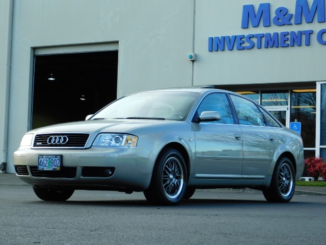 2002 Audi A6 3.0 quattro/  AWD / Leather / Heated / 64K MILES - Photo 48 - Portland, OR 97217