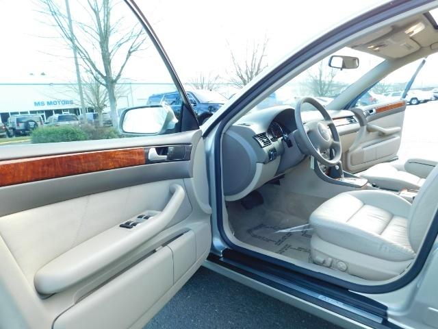 2002 Audi A6 3.0 quattro/  AWD / Leather / Heated / 64K MILES - Photo 13 - Portland, OR 97217