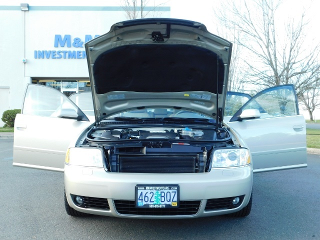 2002 Audi A6 3.0 quattro/  AWD / Leather / Heated / 64K MILES - Photo 33 - Portland, OR 97217