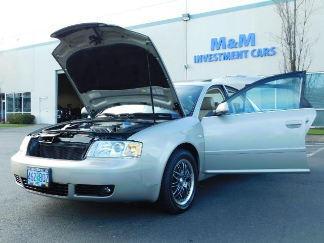 2002 Audi A6 3.0 quattro/  AWD / Leather / Heated / 64K MILES - Photo 25 - Portland, OR 97217