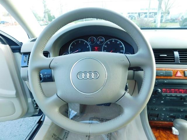 2002 Audi A6 3.0 quattro/  AWD / Leather / Heated / 64K MILES - Photo 19 - Portland, OR 97217