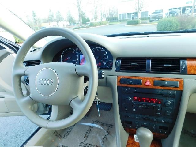 2002 Audi A6 3.0 quattro/  AWD / Leather / Heated / 64K MILES - Photo 18 - Portland, OR 97217