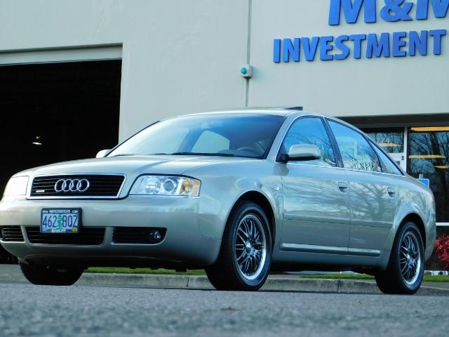 2002 Audi A6 3.0 quattro/  AWD / Leather / Heated / 64K MILES - Photo 41 - Portland, OR 97217
