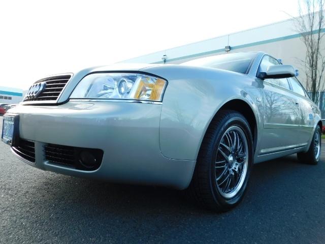 2002 Audi A6 3.0 quattro/  AWD / Leather / Heated / 64K MILES - Photo 9 - Portland, OR 97217