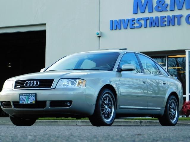 2002 Audi A6 3.0 quattro/  AWD / Leather / Heated / 64K MILES - Photo 1 - Portland, OR 97217