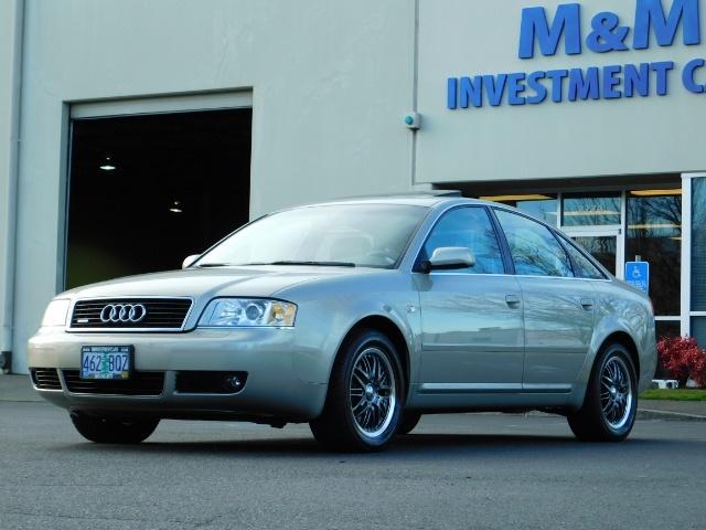 2002 Audi A6 3.0 quattro/  AWD / Leather / Heated / 64K MILES - Photo 47 - Portland, OR 97217
