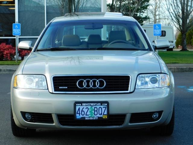 2002 Audi A6 3.0 quattro/  AWD / Leather / Heated / 64K MILES - Photo 5 - Portland, OR 97217