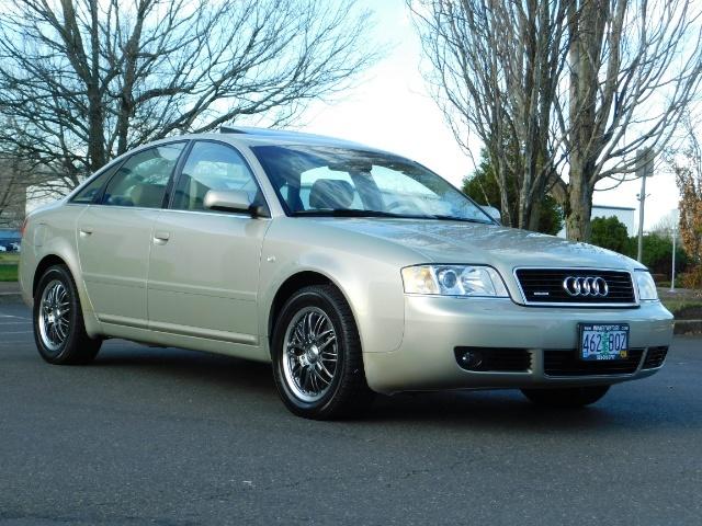 2002 Audi A6 3.0 quattro/  AWD / Leather / Heated / 64K MILES - Photo 2 - Portland, OR 97217