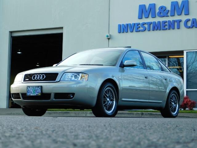 2002 Audi A6 3.0 quattro/  AWD / Leather / Heated / 64K MILES - Photo 45 - Portland, OR 97217