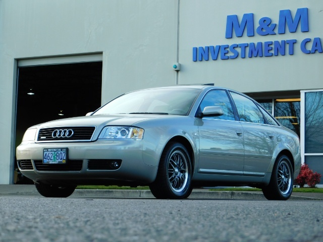 2002 Audi A6 3.0 quattro/  AWD / Leather / Heated / 64K MILES - Photo 44 - Portland, OR 97217