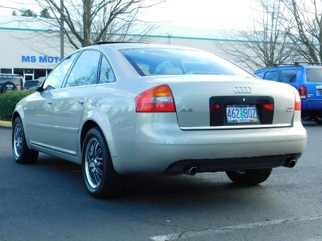 2002 Audi A6 3.0 quattro/  AWD / Leather / Heated / 64K MILES - Photo 7 - Portland, OR 97217