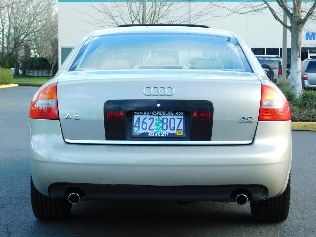 2002 Audi A6 3.0 quattro/  AWD / Leather / Heated / 64K MILES - Photo 6 - Portland, OR 97217