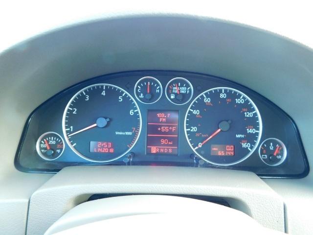 2002 Audi A6 3.0 quattro/  AWD / Leather / Heated / 64K MILES - Photo 38 - Portland, OR 97217