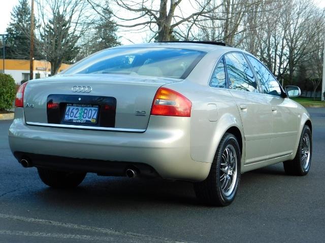 2002 Audi A6 3.0 quattro/  AWD / Leather / Heated / 64K MILES - Photo 8 - Portland, OR 97217