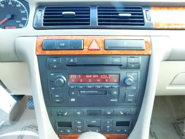 2002 Audi A6 3.0 quattro/  AWD / Leather / Heated / 64K MILES - Photo 21 - Portland, OR 97217