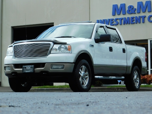 2005 Ford F-150 Lariat 4dr SuperCrew Lariat 4WD MOON ROOF - Photo 1 - Portland, OR 97217