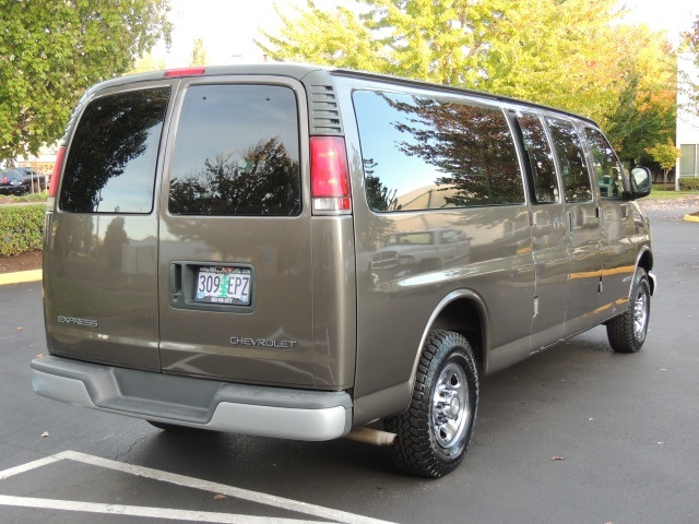 2002 Chevrolet Express 3500    15  V8    1  82k Miles