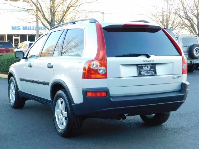 2004 Volvo XC90 2.5T / Leather / Heated seats / Rear DVD/ Low mile - Photo 7 - Portland, OR 97217