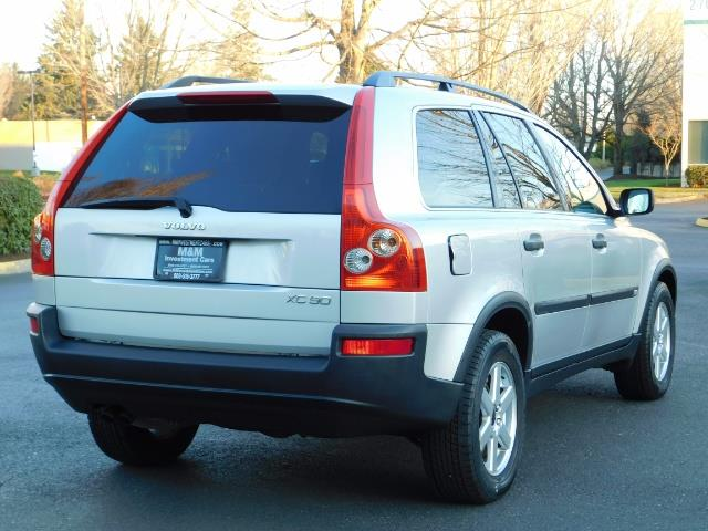 2004 Volvo XC90 2.5T / Leather / Heated seats / Rear DVD/ Low mile - Photo 8 - Portland, OR 97217